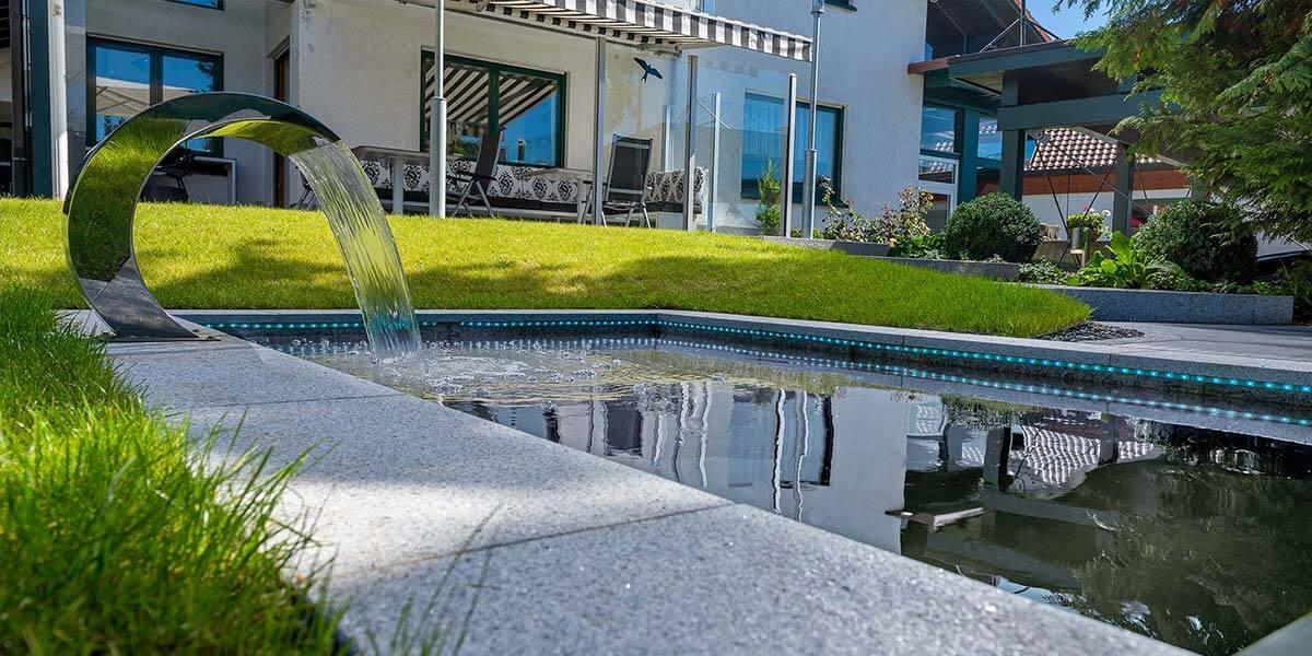 Bild von Pool im Garten Villingen-Schwenningen