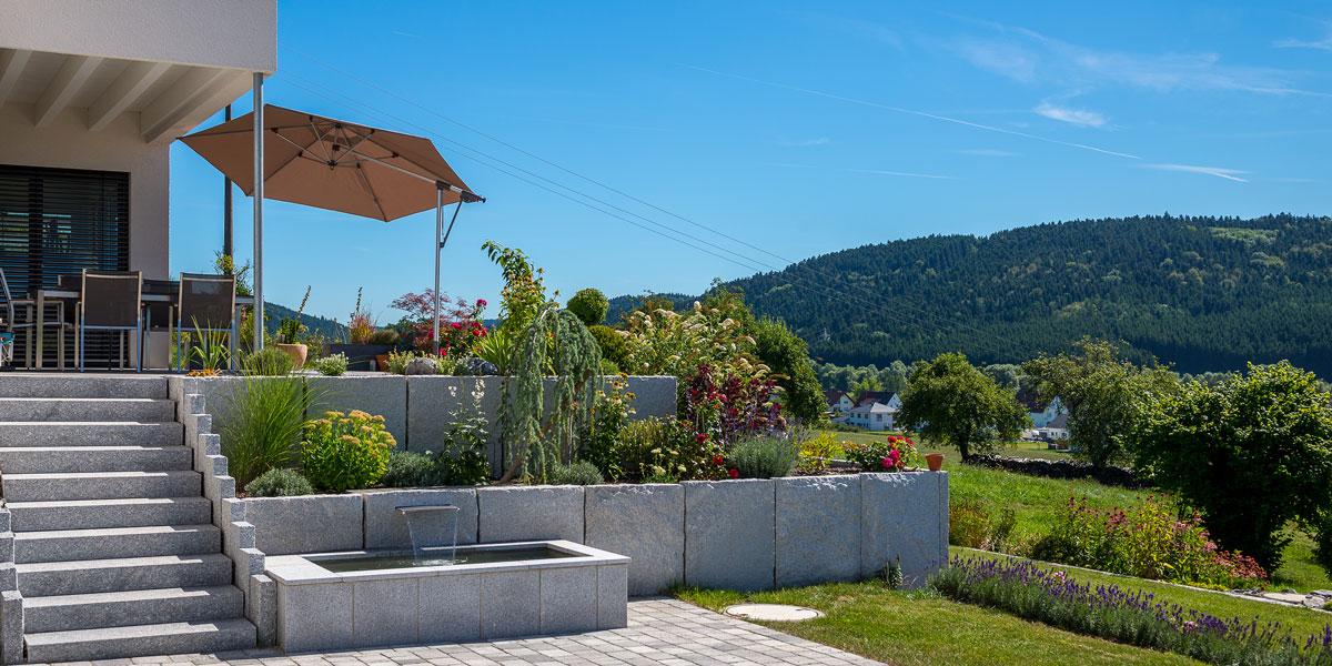 Garten von Schuler gestaltet