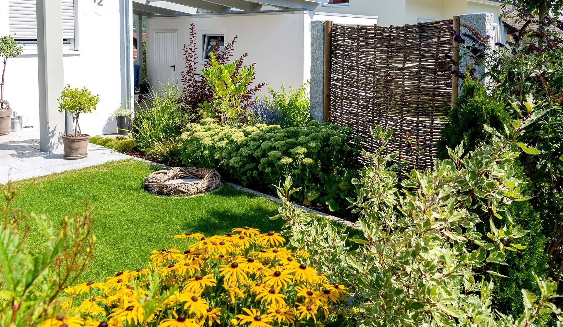 Gartengestaltung für schmale Garten in Villingen-Schwenningen