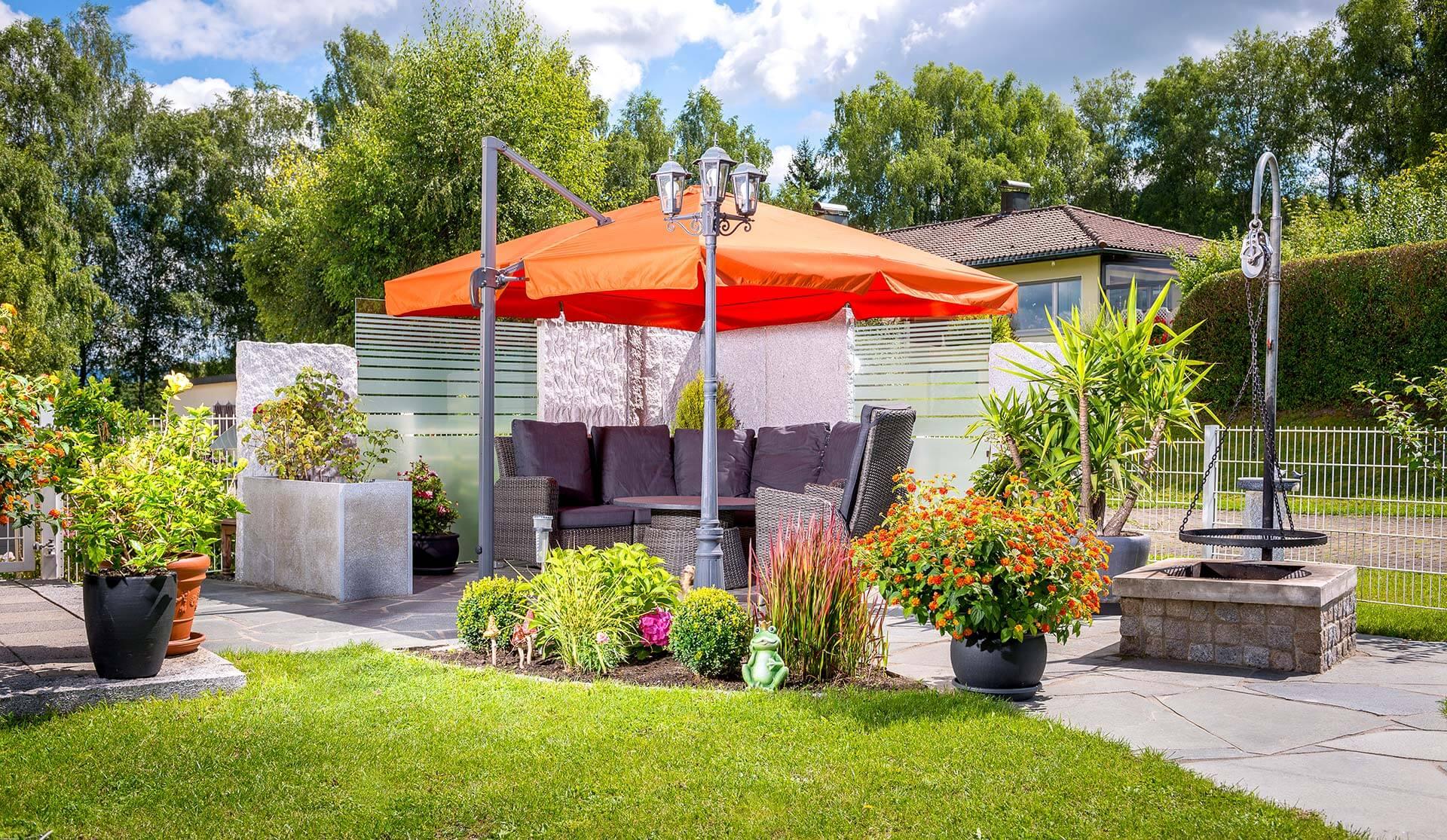 Sicht- & Windschutz im Garten in Rottweil