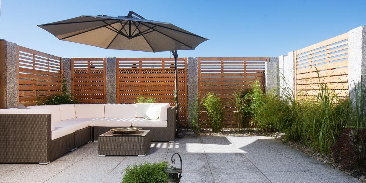 sicht und windschutz gartenlandschaftsbau schuler. Black Bedroom Furniture Sets. Home Design Ideas