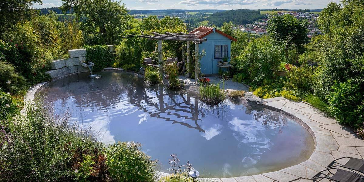 Wasser im Garten - Gartenlandschaftsbau Schuler